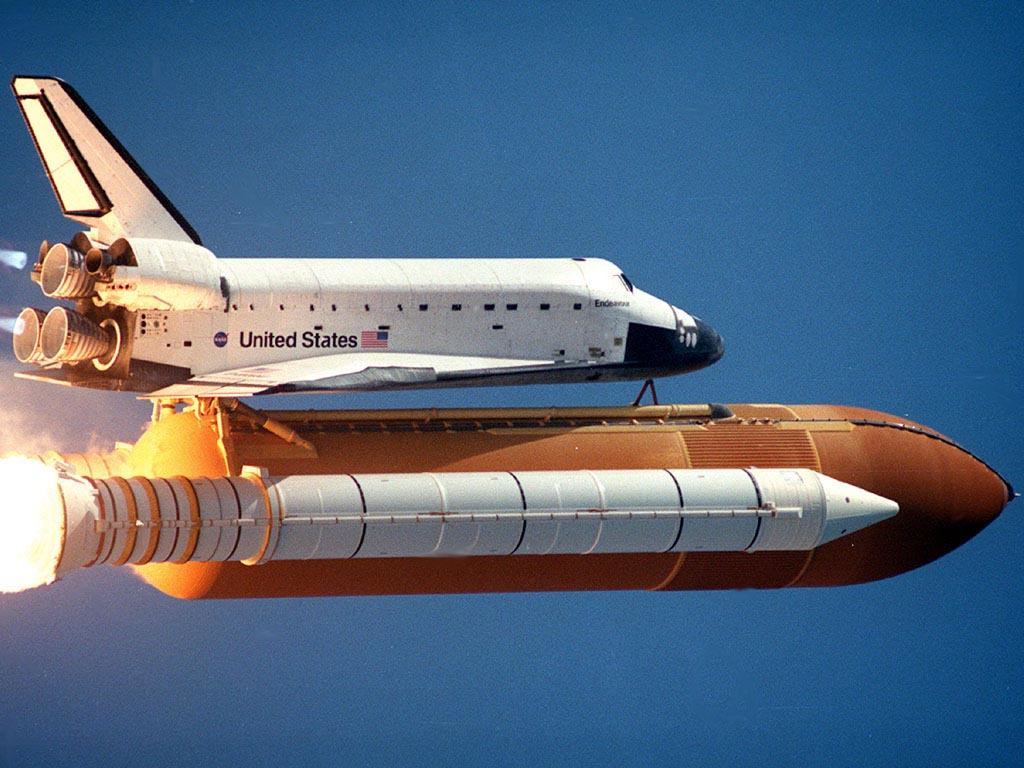 space shuttle endeavour in space - photo #21