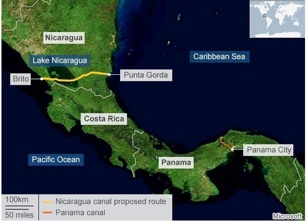 ENTER THE DRAGON: THE NICARAGUA CANAL