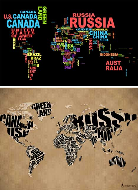 Typo world map wallpaper more than shipping typo world map wallpaper gumiabroncs Images