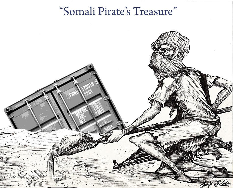 Somali Pirate's Treasure