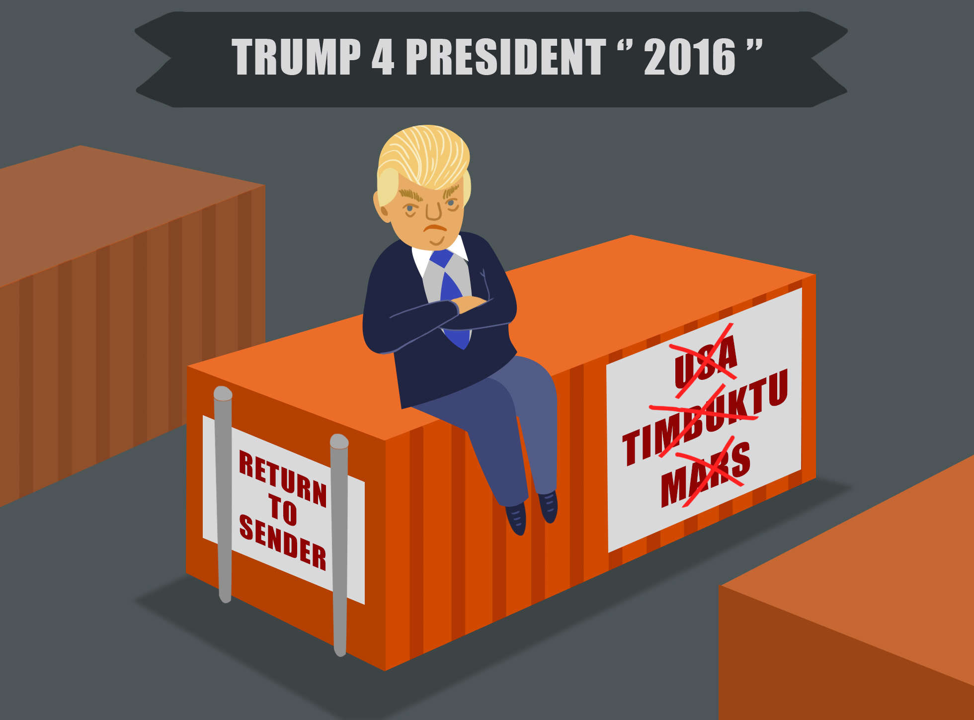 Donald Trump President of?