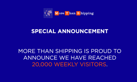 Announcement: More Than Shipping has reached 20,000 Weekly Visitors