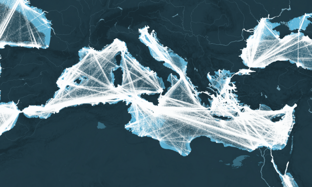 Rising LNG Ship Traffic in the Mediterranean