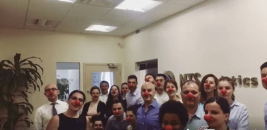 MTS Logistics Supports Red Nose Day 2017
