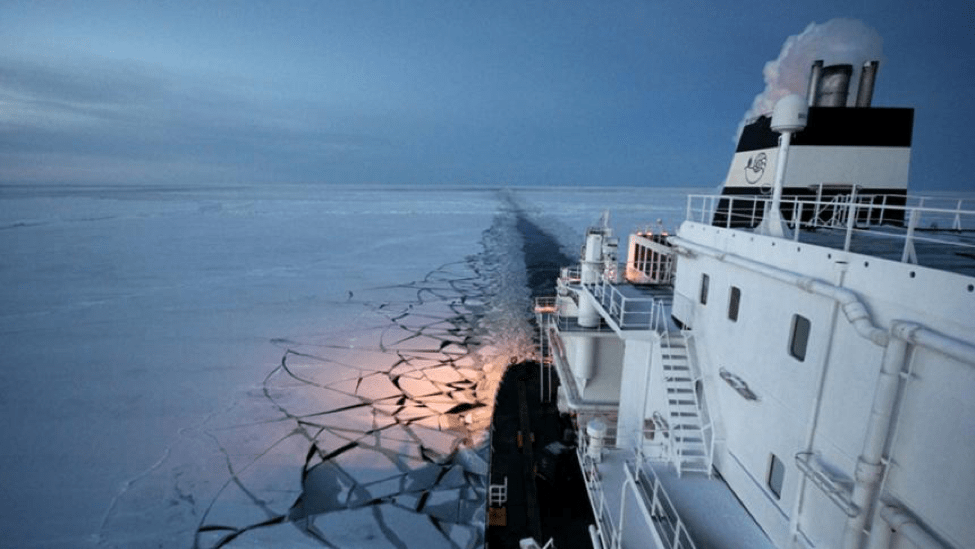 Northeast Passage: Climate Change Reveals a New Shipping Route