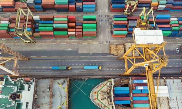 What is the Process of Docking a Container Ship?