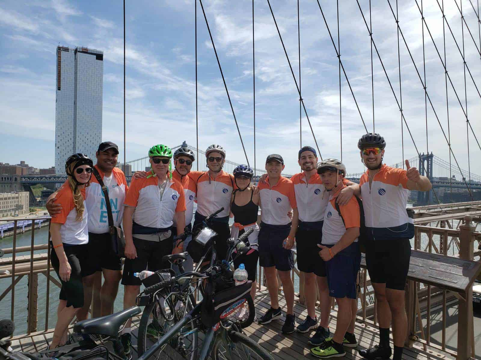 MTS Logistics, NYC-Based National Logistics Provider, Raises Over $50,000 for Autism Awareness with 9th Annual Bike Tour with MTS for Autism